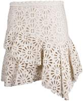 Isabel Marant Lace Detail Skirt
