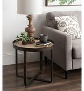 Wrenn Round Metal End Table Gracie Oaks Color: Bronze