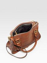Chloé Marcie Medium Perforated Leather Shoulder Bag