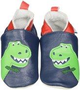 Jo-Jo JoJo Maman Bebe T-Rex Booties (Baby) - Navy-6-12 Months