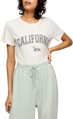 Topshop California Bear T-Shirt