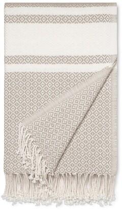 Adirondack Boll & Branch Organic Cotton Throw Blanket