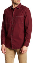 Tommy Bahama Sea Glass Long Sleeve Regular Fit Shirt (Regular & Big)