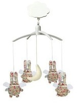 Trousselier Liberty Angel Bunny musical mobile