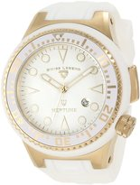 Swiss Legend Men's 21818D-YG-02-WHT Neptune Dial Silicone Watch