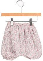 Makie Girls' Floral Print Straight-Leg Pants