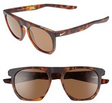Nike Men's Flatspot 52Mm Sunglasses - Tortoise