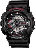 G-Shock Duo Black Face With Red Accents
