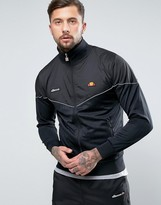 Ellesse Track Jacket With Reflective Piping