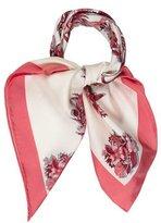 Gucci Floral Silk Scarf w/ Tags