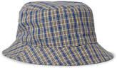 Acne Studios Checked Canvas Bucket Hat