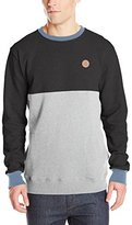 Volcom Men's Single Stone Color Block Crew Sweatshirt