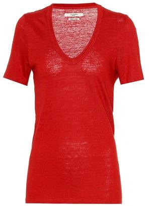 Etoile Isabel Marant Isabel Marant, étoile Kranger linen T-shirt