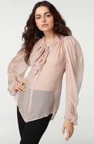 'Havana' Silk Blouse