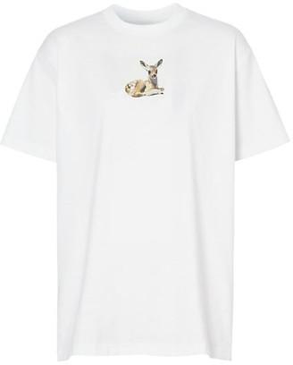 Burberry Devon Deer Graphic T-Shirt