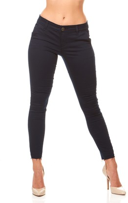 CG JEANS Size Cute Juniors Trouser Low Rise Large Twill Raw Hem Skinny