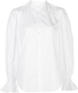 Polo Ralph Lauren Ruffled-Cuff Cotton Shirt