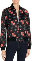 Joe's Jeans The Elsie Floral Printed Bomber Jacket