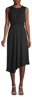 Rachel Roy Asymmetric Midi Dress