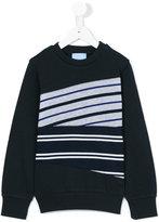 Lanvin Petite - striped sweatshirt - kids - Cotton - 2 yrs
