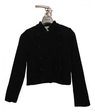 LES COYOTES DE PARIS Black Velvet Jackets
