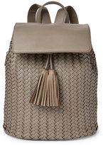 Deux Lux Grey Mott Woven Backpack