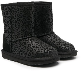 Ugg Kids Leopard-Print Boots