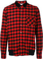 Sacai Buffalo check shirt - men - Cotton - 1