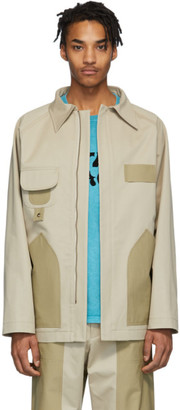 Nicholas Daley Tan Twill Hunting Jacket