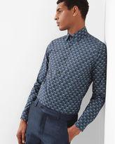 Ted Baker Shell print cotton shirt