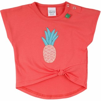 Green Cotton Fred's World by Baby Girls' Fruit Pineapple S/s T Shirt