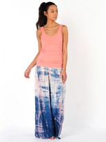 Hard Tail Rayon Voile Flat Waist Pant