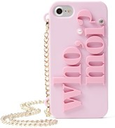 Kate Spade Who Moi? Miss Piggy Iphone 7 Case On A Chain - Pink