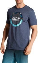 Rip Curl Sessions Mock Twist Tailored Fit Graphic Tee