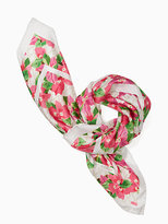 Kate Spade Mothers day silk square scarf