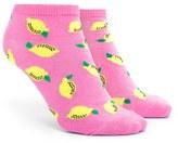 Forever 21 FOREVER 21+ Lemon Print Ankle Socks
