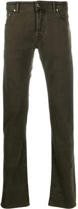Jacob Cohen straight-leg textured trousers