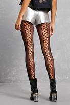 Forever 21 FOREVER 21+ Illusion Lace-Up Tights