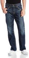 Silver Jeans Men's Gordie Dark Wash Straight Leg Jean