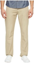 AG Adriano Goldschmied Graduate Tailored Leg Linen Pants in Sulfur Desert Stone Men's Casual Pants