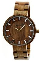 Earth Branch Collection ETHEW2804 Unisex Wood Watch with Wood Bracelet-Style Band