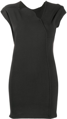 Rick Owens Asymmetric Neck Dress