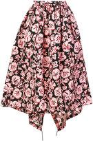 Kenzo floral full skirt - women - Polyester/Polyamide - 36