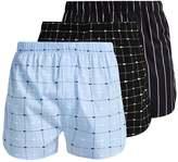 Lacoste 3 Pack Boxer Shorts Black