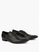 Haider Ackermann Black Leather Lace-Up Shoes