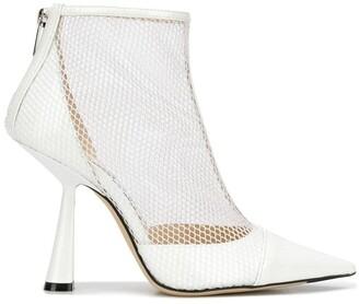 Jimmy Choo Kix mesh panel boots