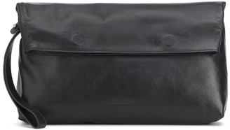 Ann Demeulemeester Leather clutch