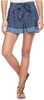 Juicy Couture Silk Brigitte Foulard Short