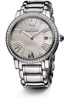 David Yurman Classic 38mm Stainless Steel Quartz with Diamond Bezel