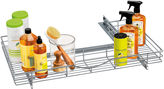 Lynk Professional U-Shaped Roll Out Under Sink Drawer - Pull Out Under Cabinet Organizer Shelf - Chrome